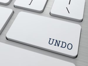 """Undo"" button on keyboard"