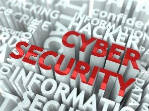 Cyber Security | Cybersecurity | red letters