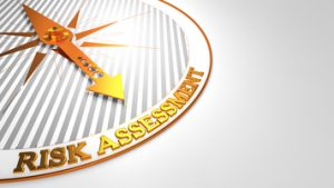 A risk assessment provides you with a list of issues that need to be addressed.